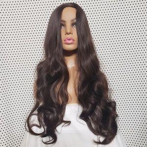 Long Curly Brunette 7